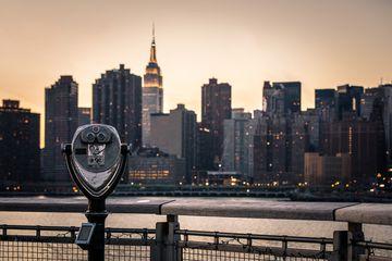 View of Midtown Manhattan from Gantry Plaza