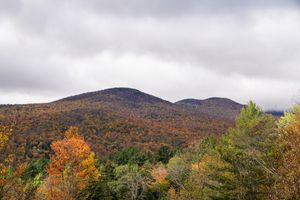 Fall colors in Stowe, Vermont