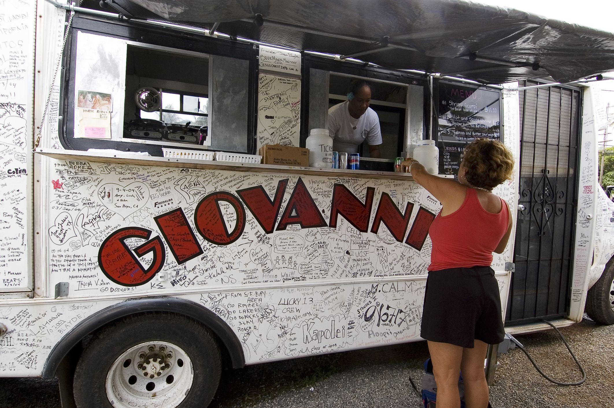 Giovanni's Original White Shrimp Truck
