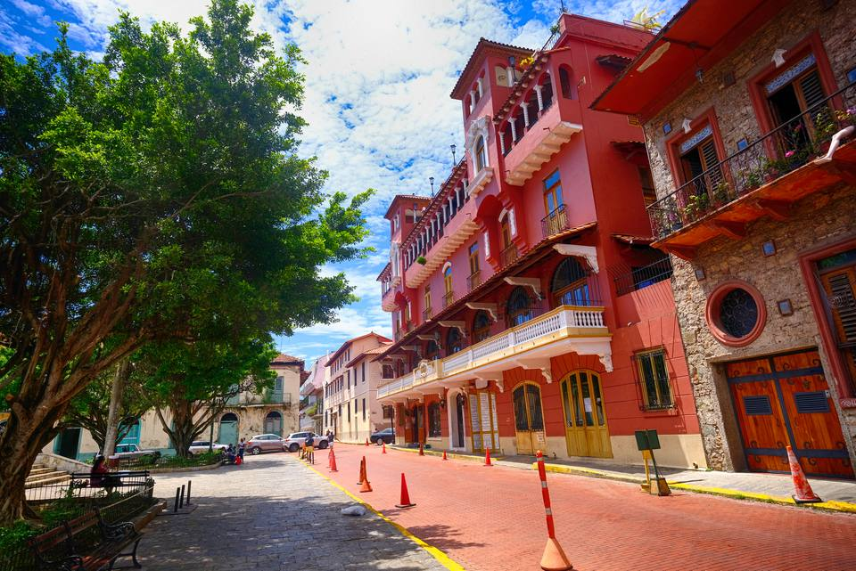 Old Town in Panama City, Panama