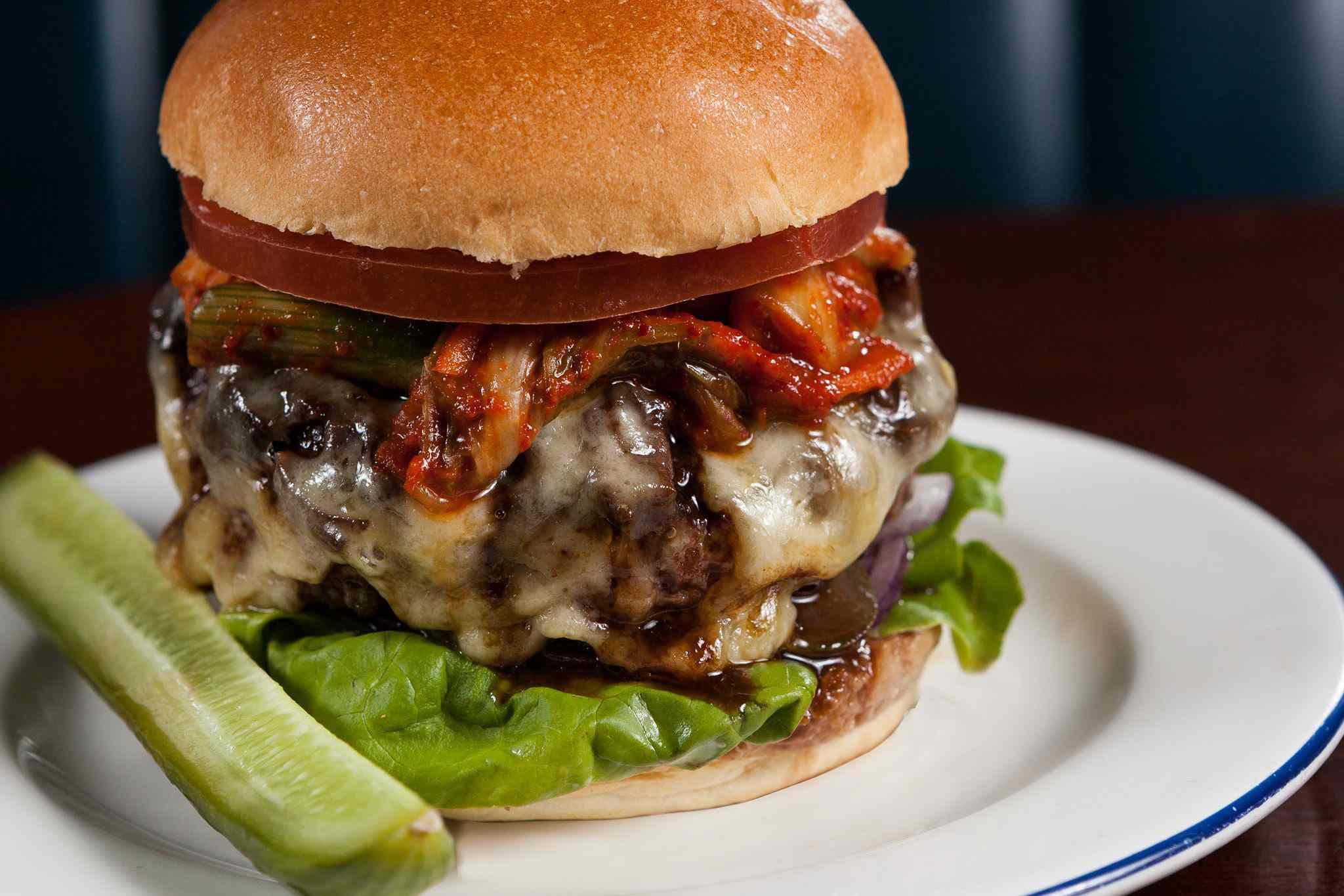 Hawksmoor Burger