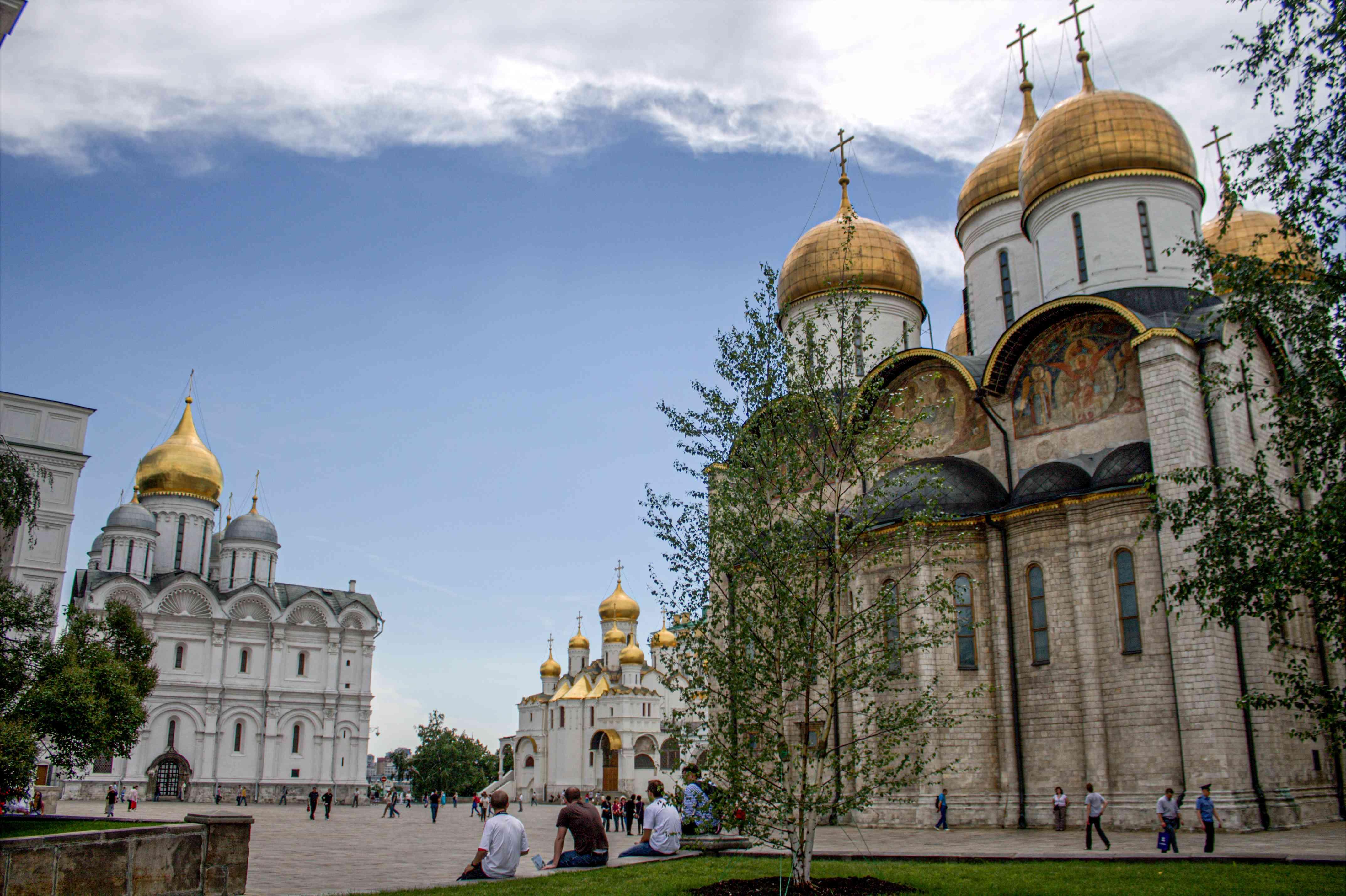 The Kremlin building