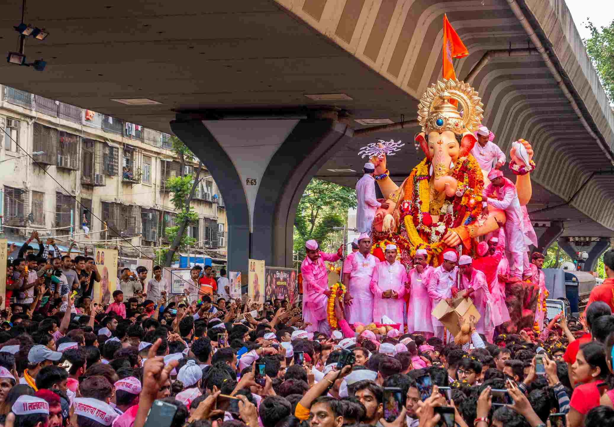 Mumbai Ganesh festival.