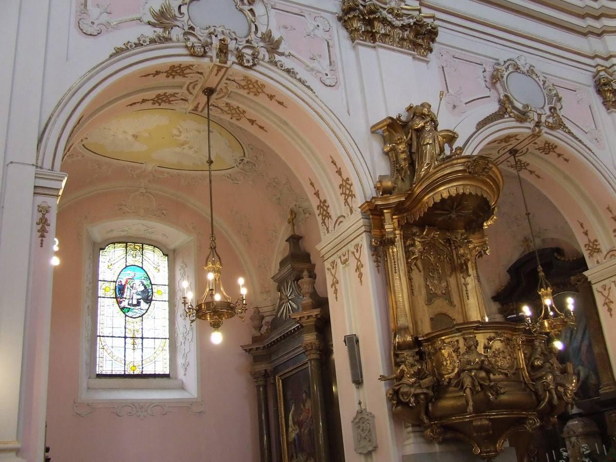 Interior of Kalocsa Cathedral