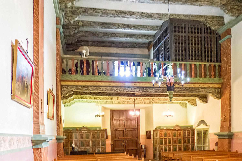 Choir Loft, Mission San Buenaventura