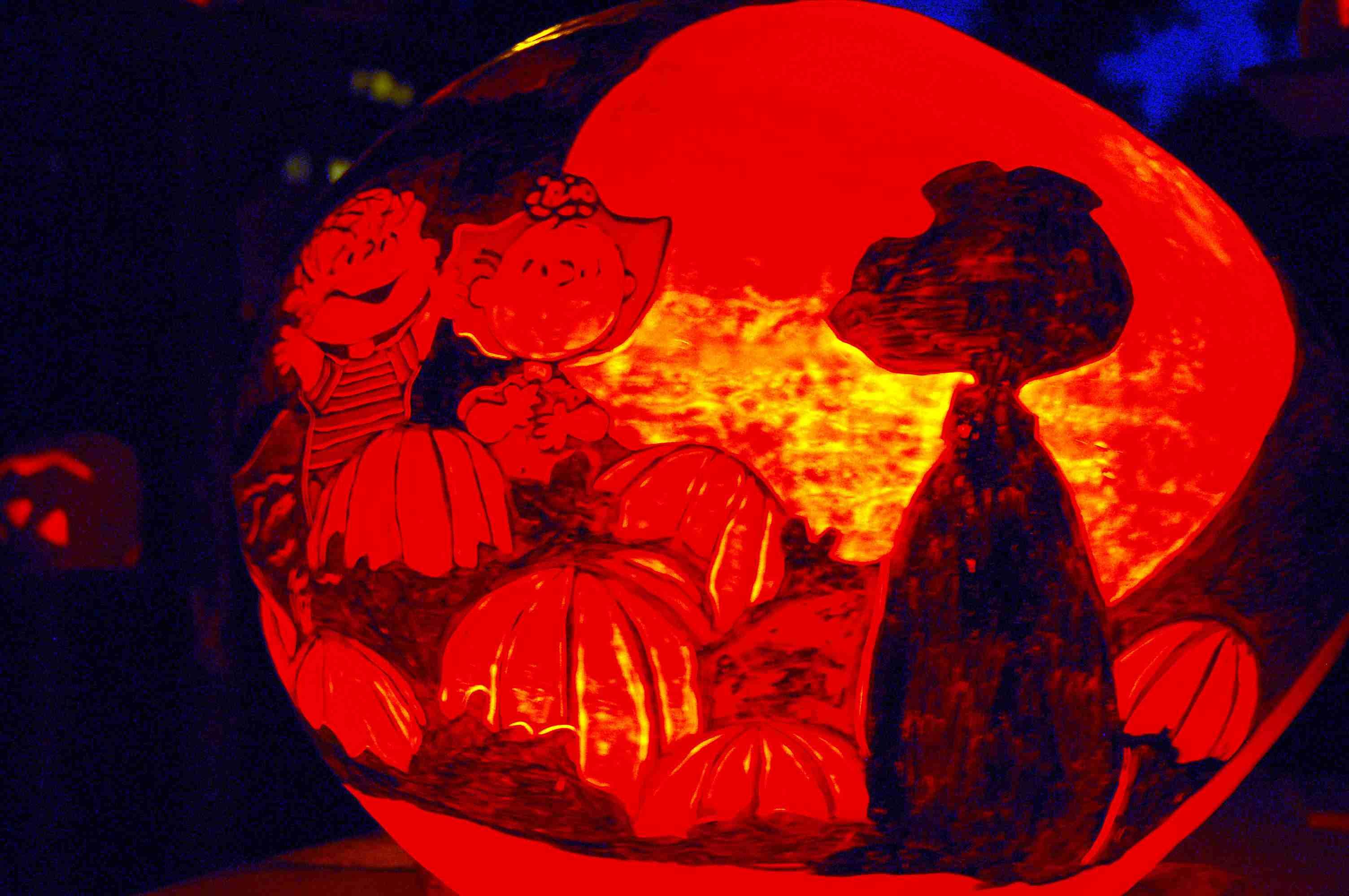 Jack O Lantern Spectacular in Providence Rhode Island