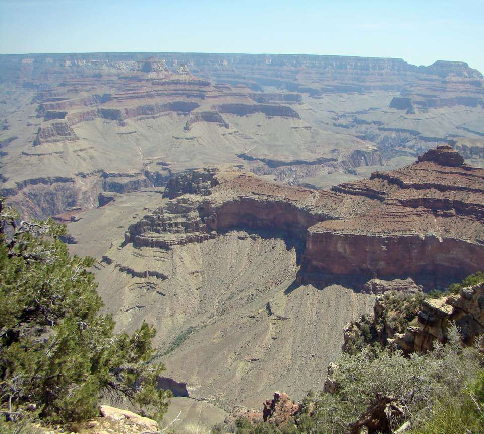 The Grand Canyon, as viewed from the South Rim.