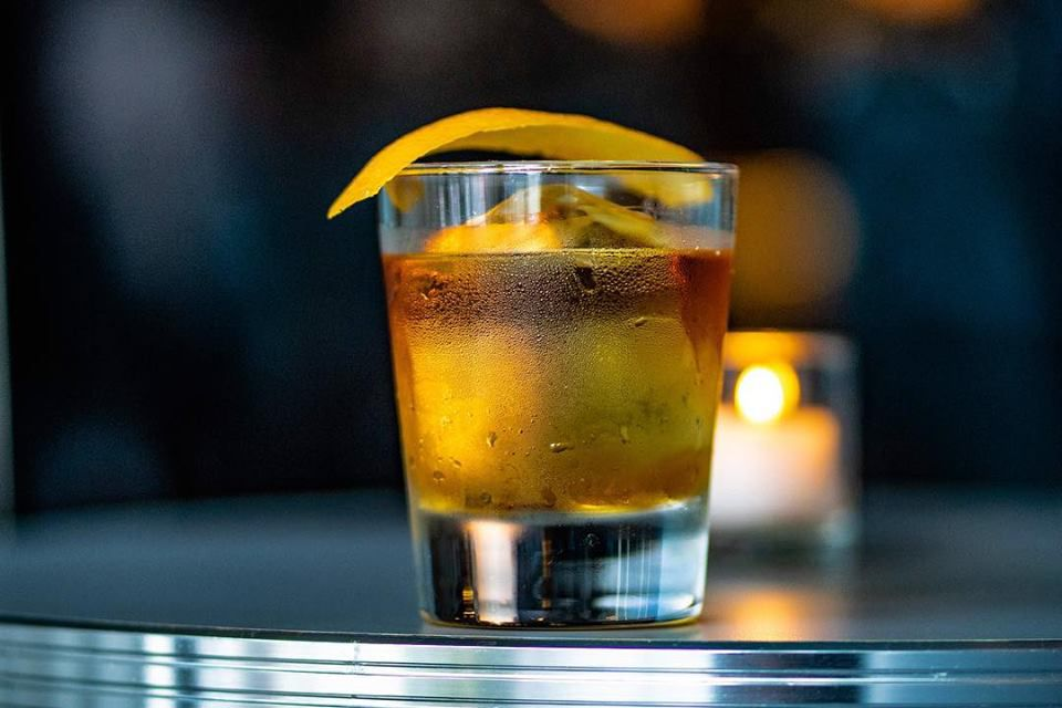 Old Fashioned at Morris American Bar