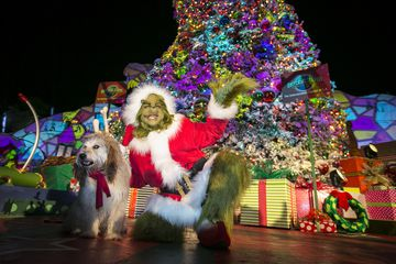 Universal Studios Hollywood Christmas event, Grinchmas.
