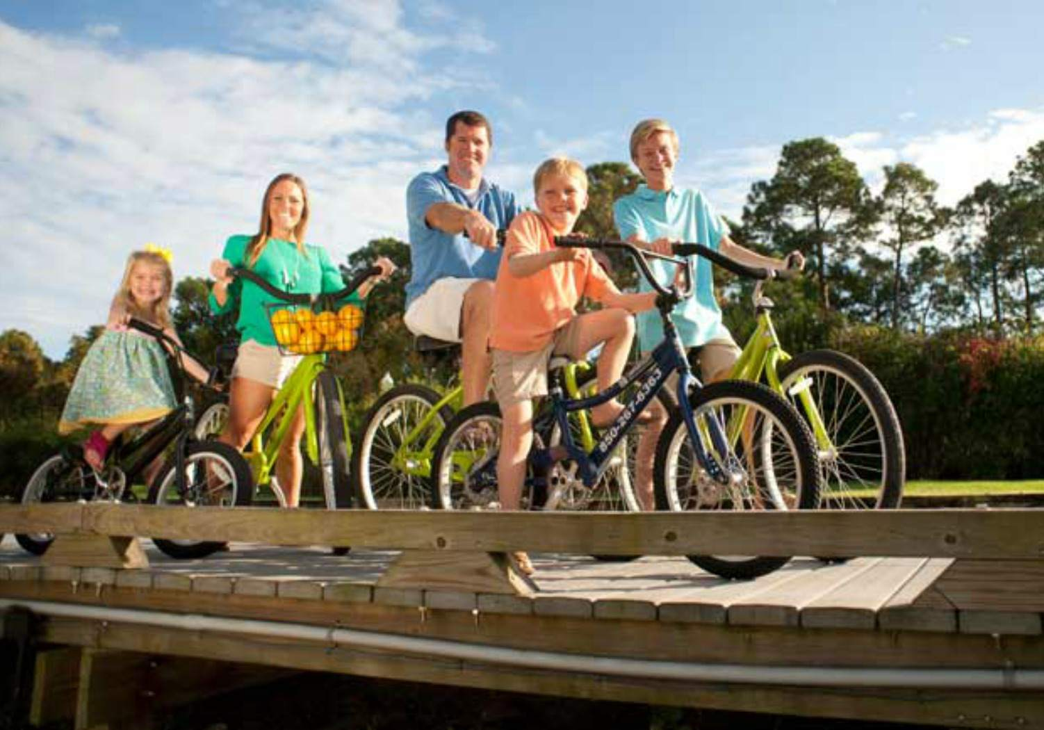 Free Bike Rentals at Sandesting Golf and Beach Resort