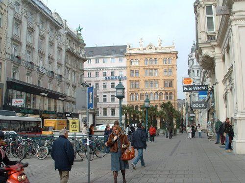 Escena callejera de Viena