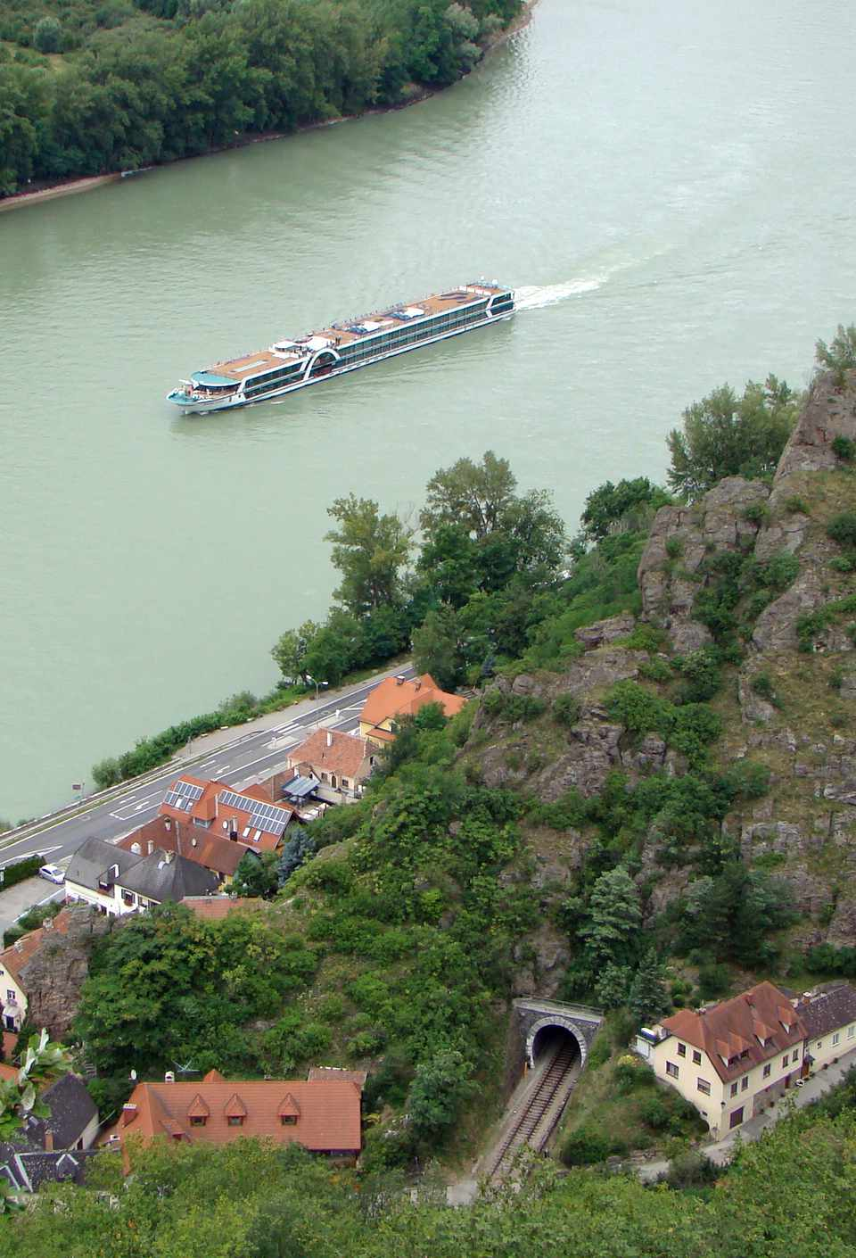 Danube River cruises take visitors through the scenic Wachau Valley in Austria
