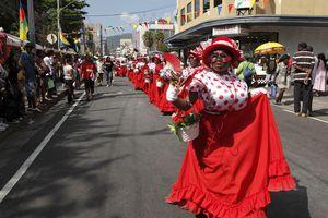 Carnival revelers