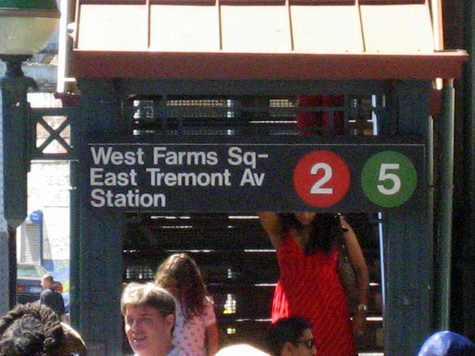 bronx zoo subway entrance
