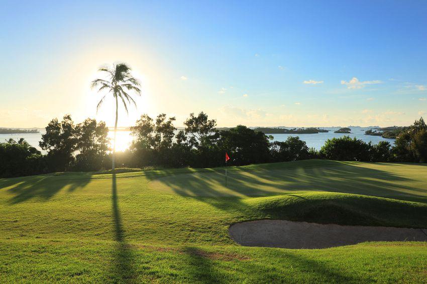 Golf course at Newstead Belmont Hills