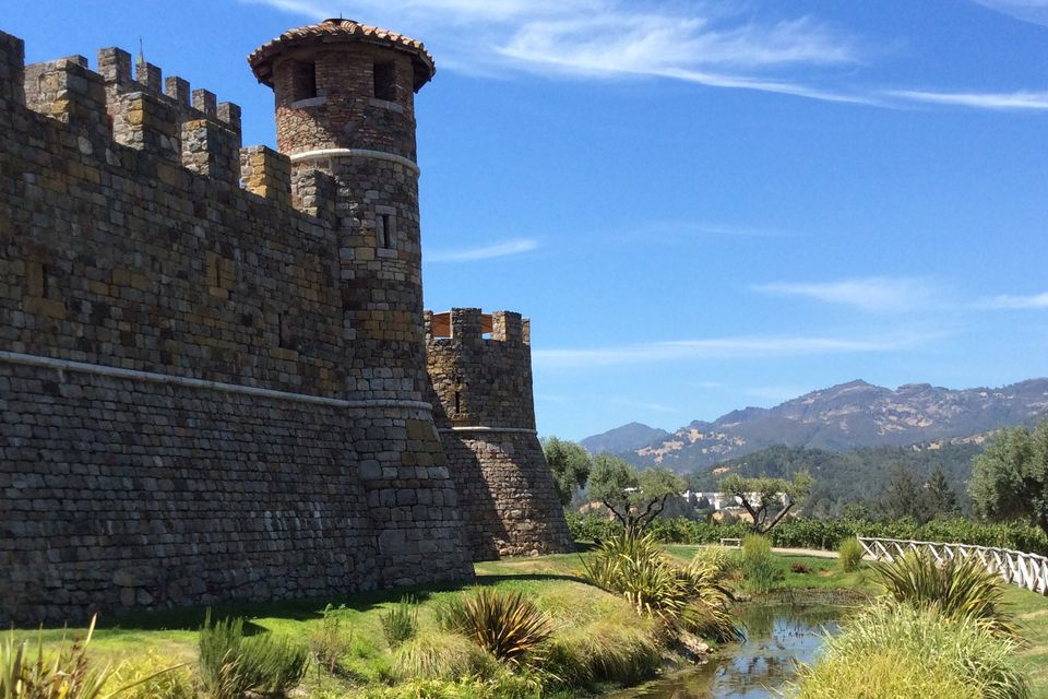 Castello di Amorosa in Napa California