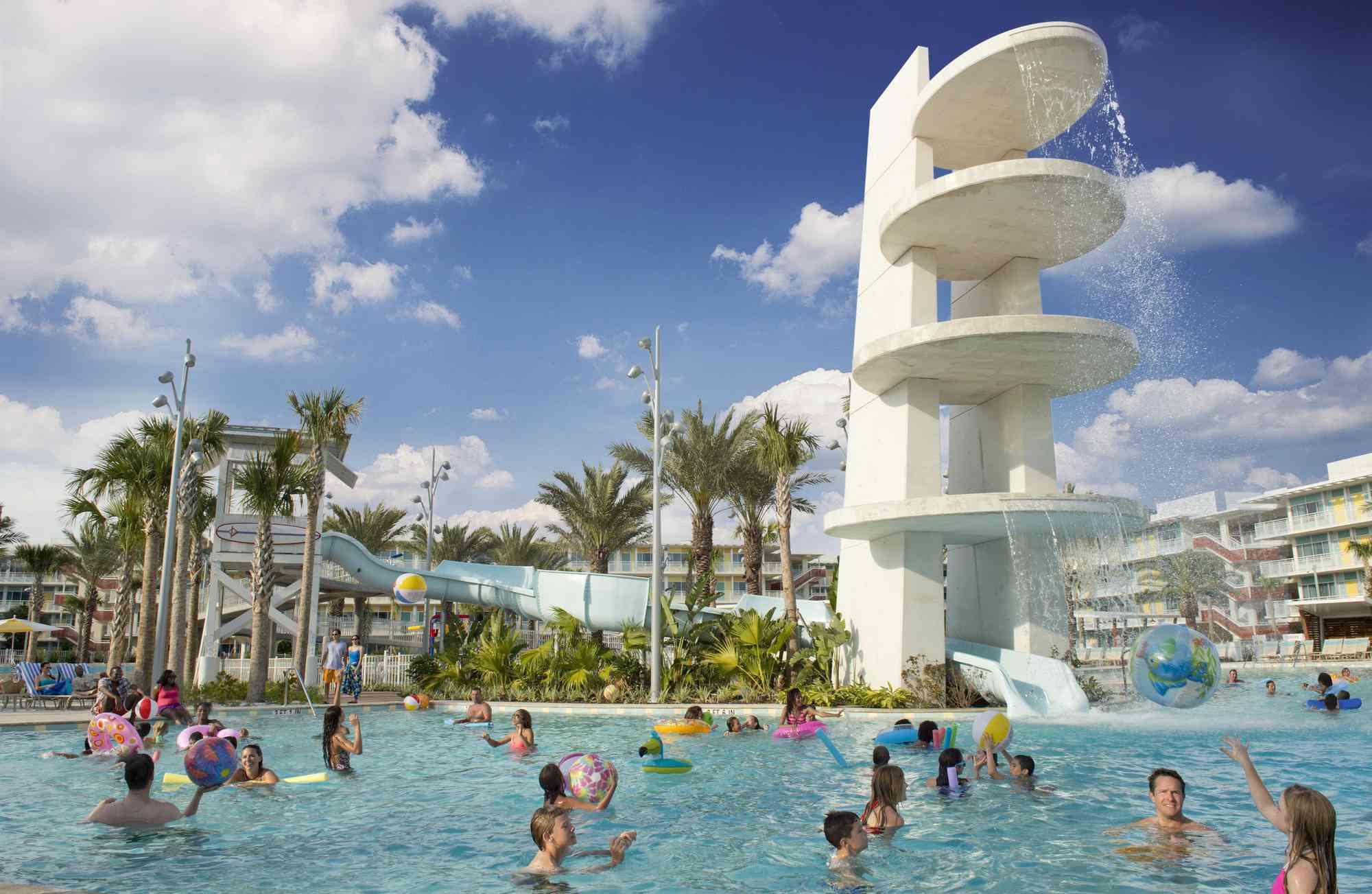Cabana Bay pool Universal Orlando