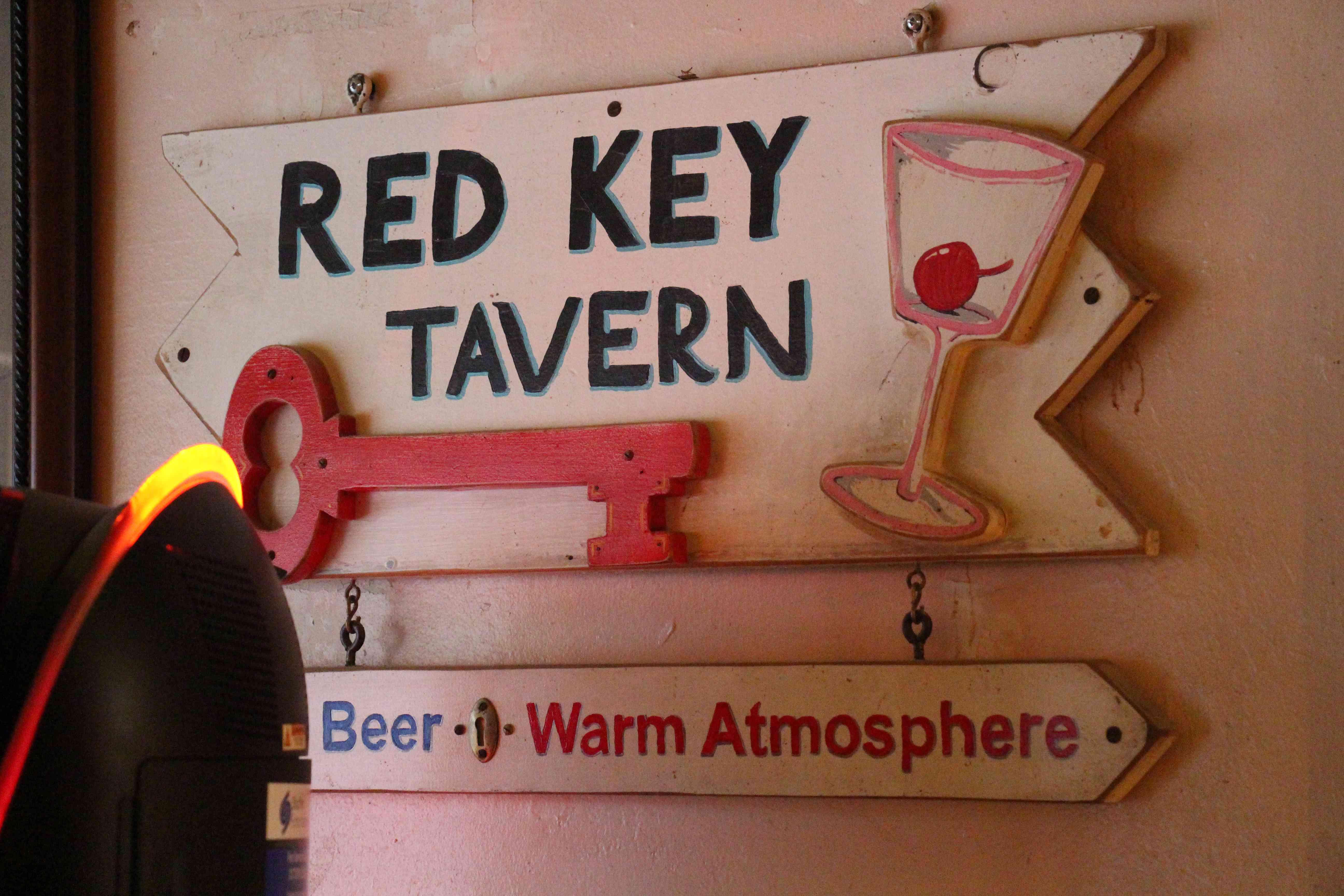 Red Key Tavern sign