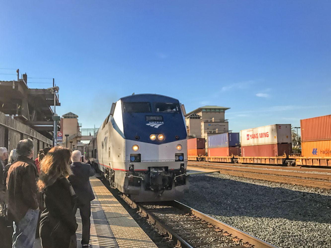 Amtrak to Reno - California Zephyr Over the Sierras