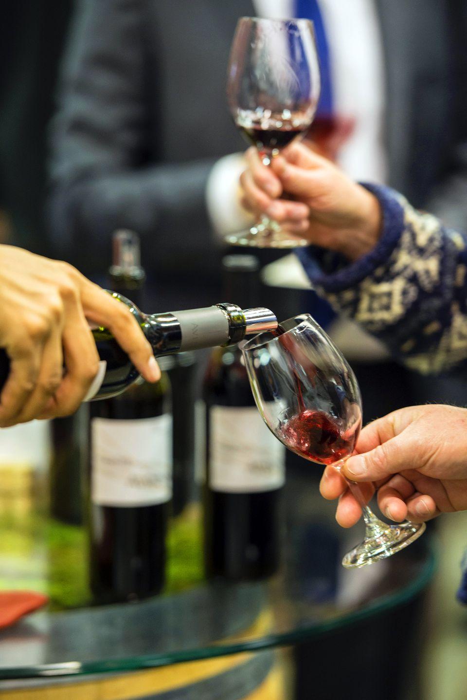 Wine Tasting in Woodinville, Washington