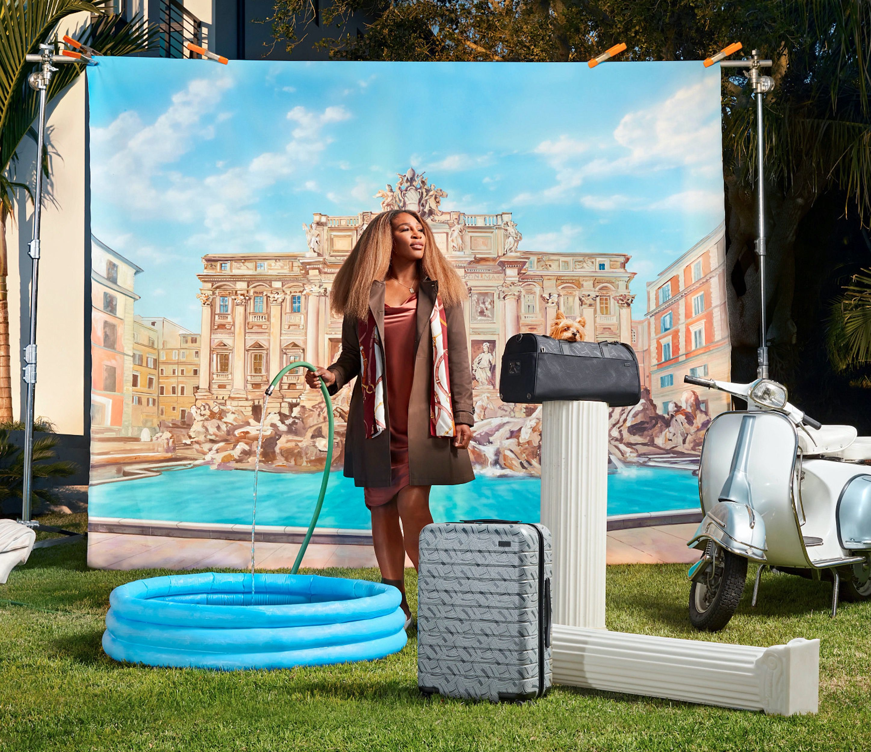 Serena Williams and Away's Latest Luggage Collection Is Here To Help You Travel in Style