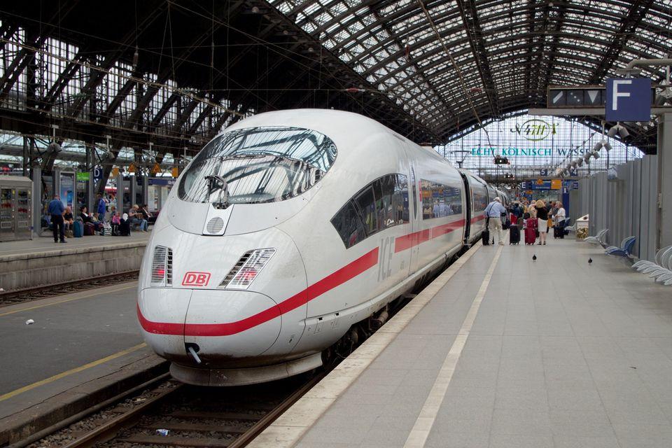 ICE train Koln