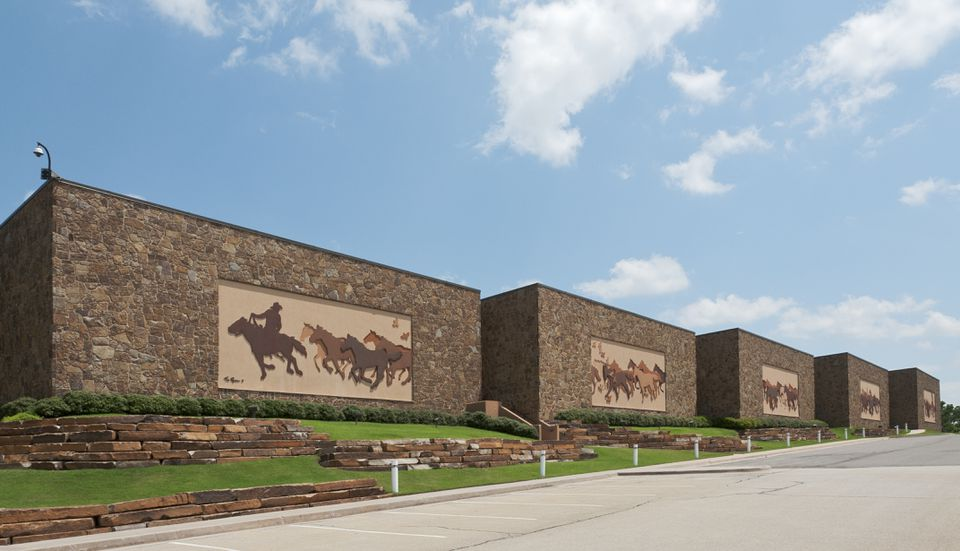 Facade of National Cowboy & Western Heritage Museum in Oklahoma City