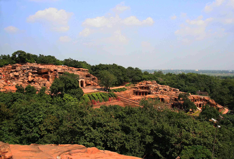 Udayagiri Hills and Caves, Bhubaneshwar, Odisha.