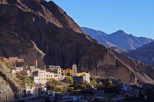 Argentina, Salta Province, Iruya, Mountain Village