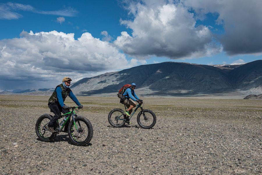 fat biking Mongolia