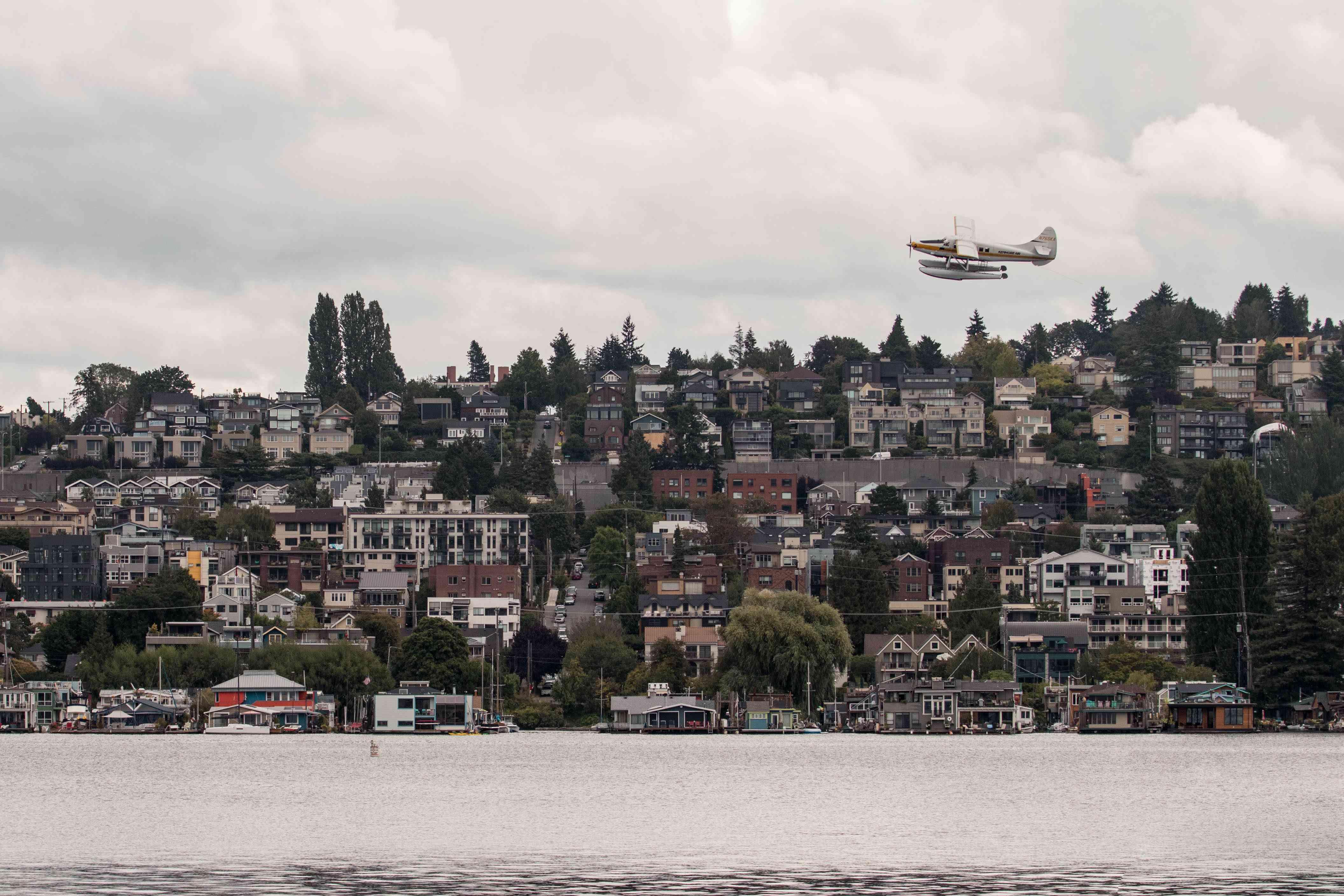 Kenmore Air seaplanes in Seattle, Washington