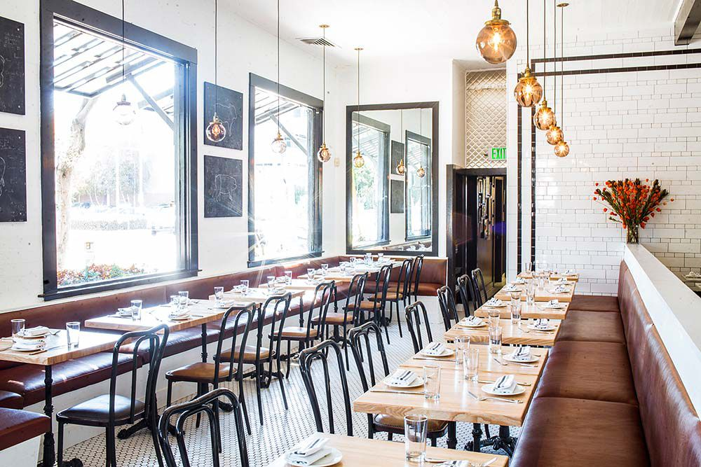 Inside marlowe in sanfrancisco with large windows letting in light