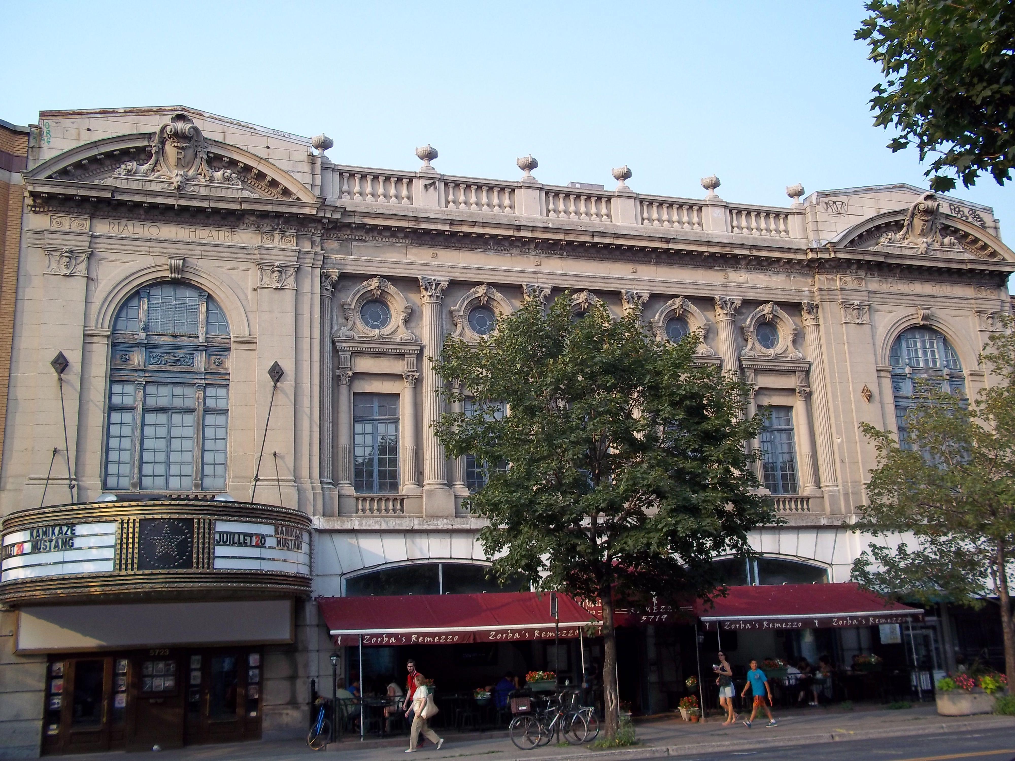 Rialto Theater Montreal
