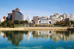 USA, Tennessee, Memphis, Downtown