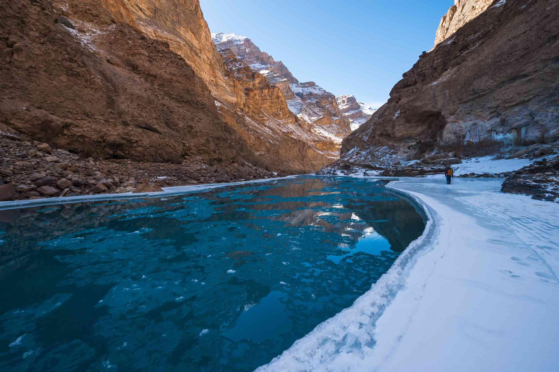 Chadar Trek or Trekking on Frozen Zanskar River
