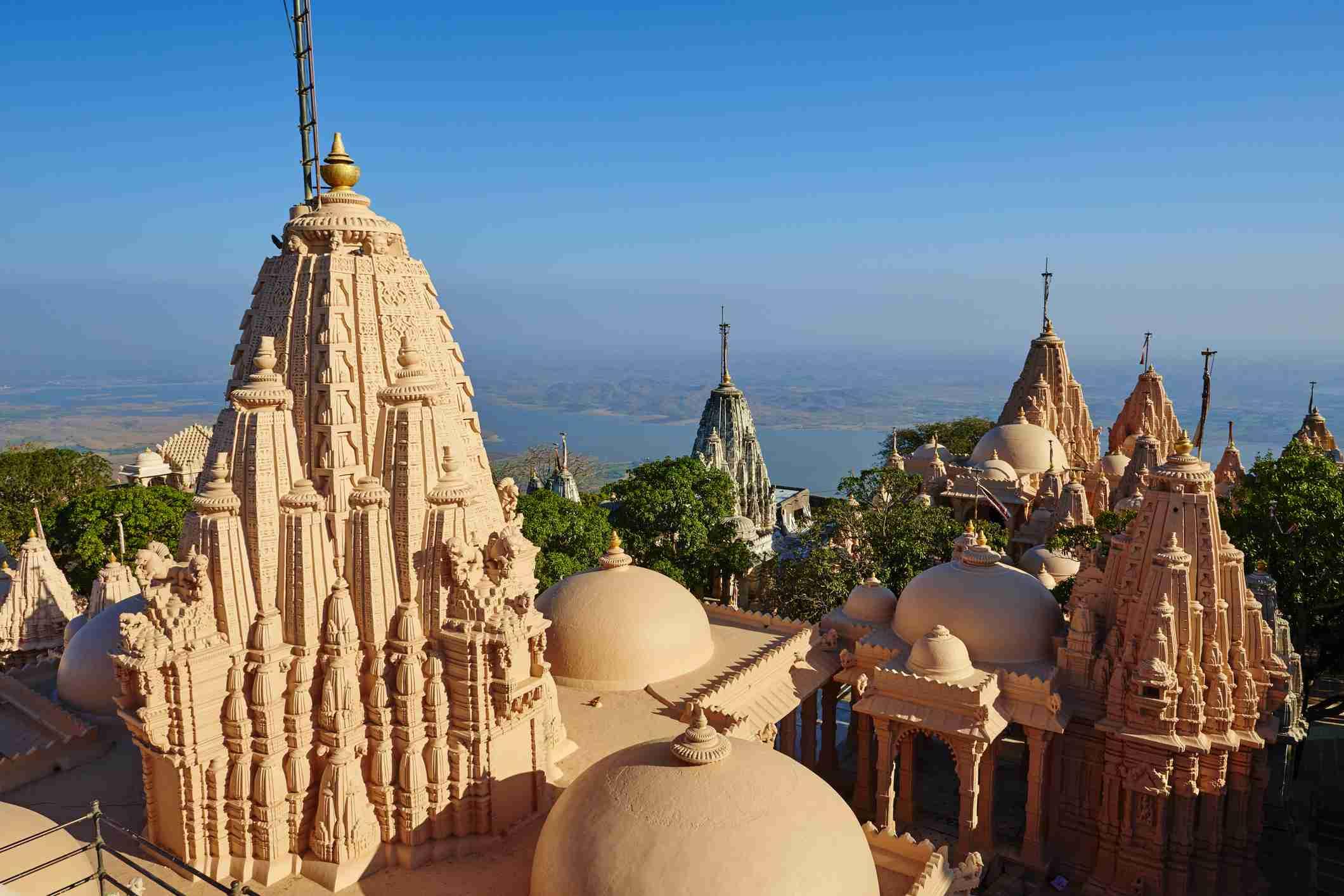 Gujarat, Palitana, templo Shatrunjaya