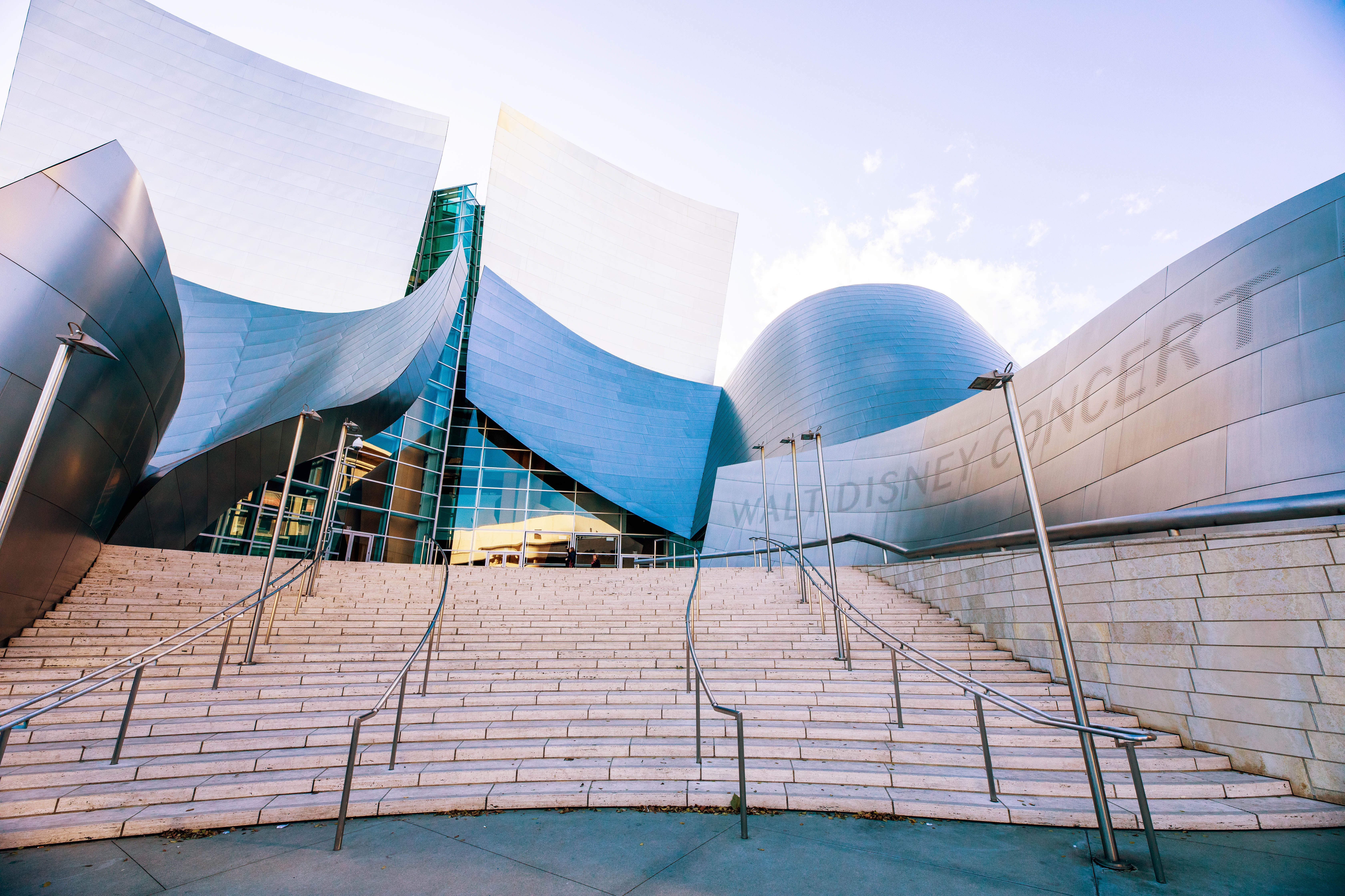 Exterior of the Disney Concert Hall
