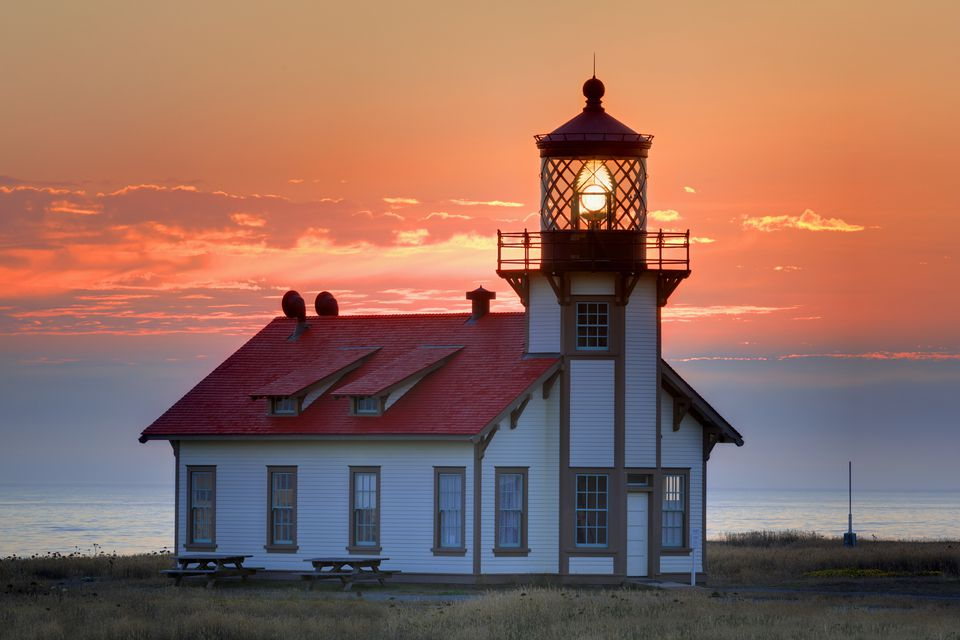 Point Cabrillo Lighthouse in Mendocino California