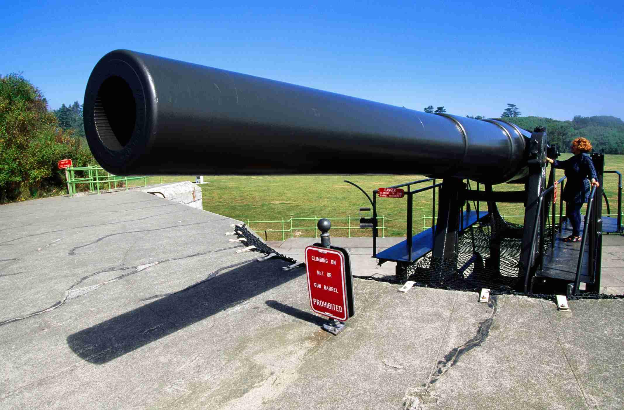 Fort Casey Guns