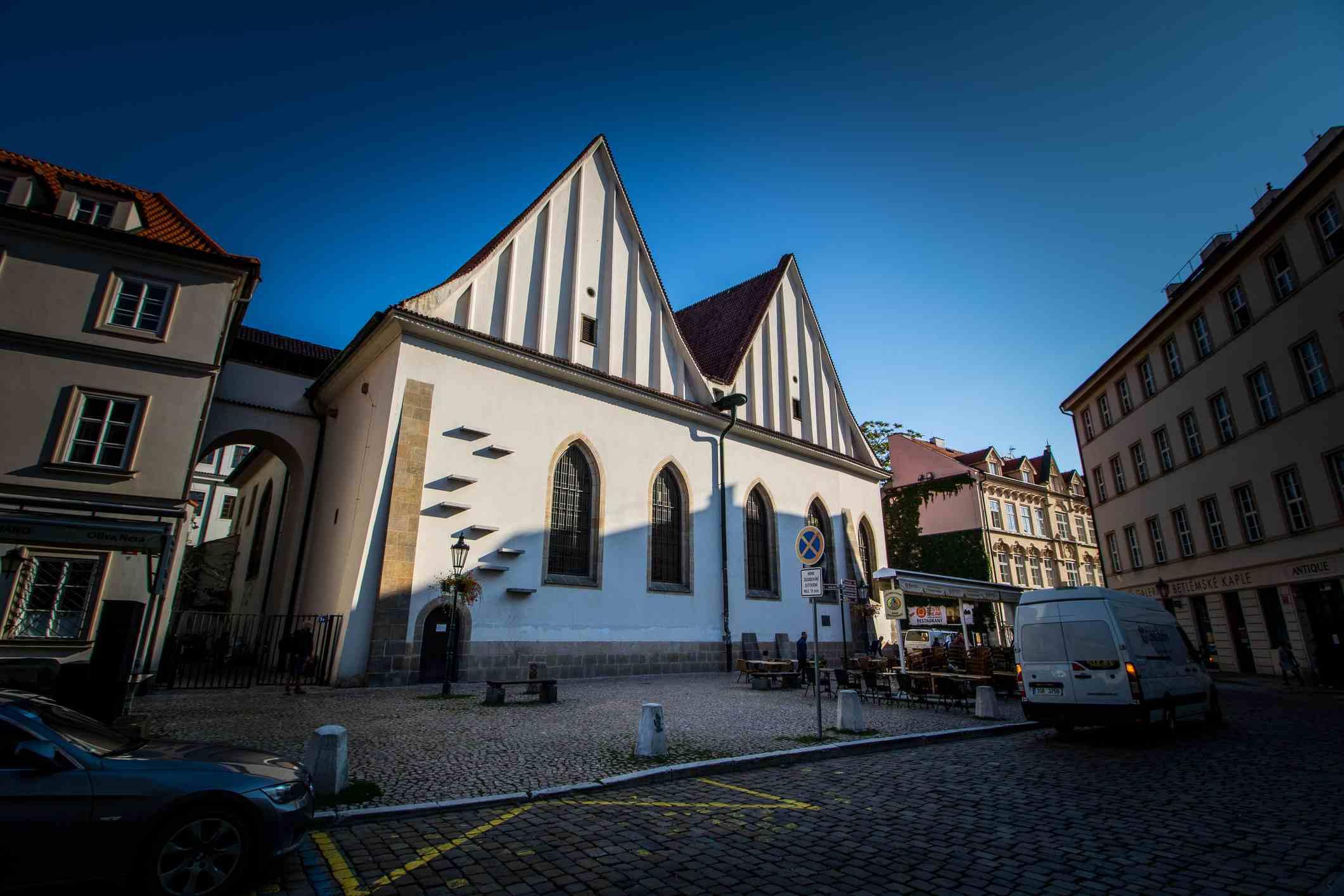 Bethlehem Chapel on the Bethlehem Square (Betlémské Náměstí) in Prague, Czech Republic