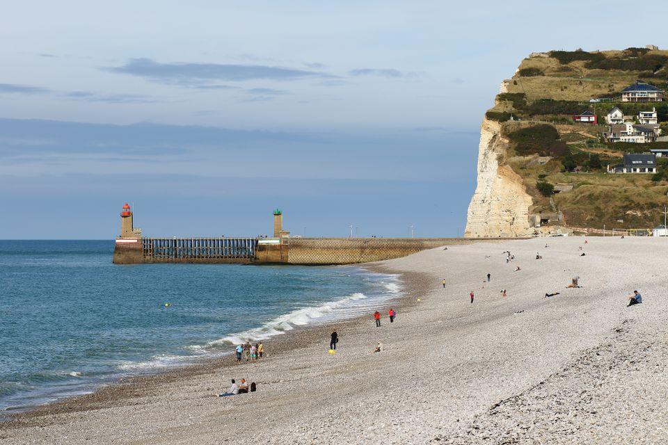 Alabaster Coast, Dieppe, Normandy, France