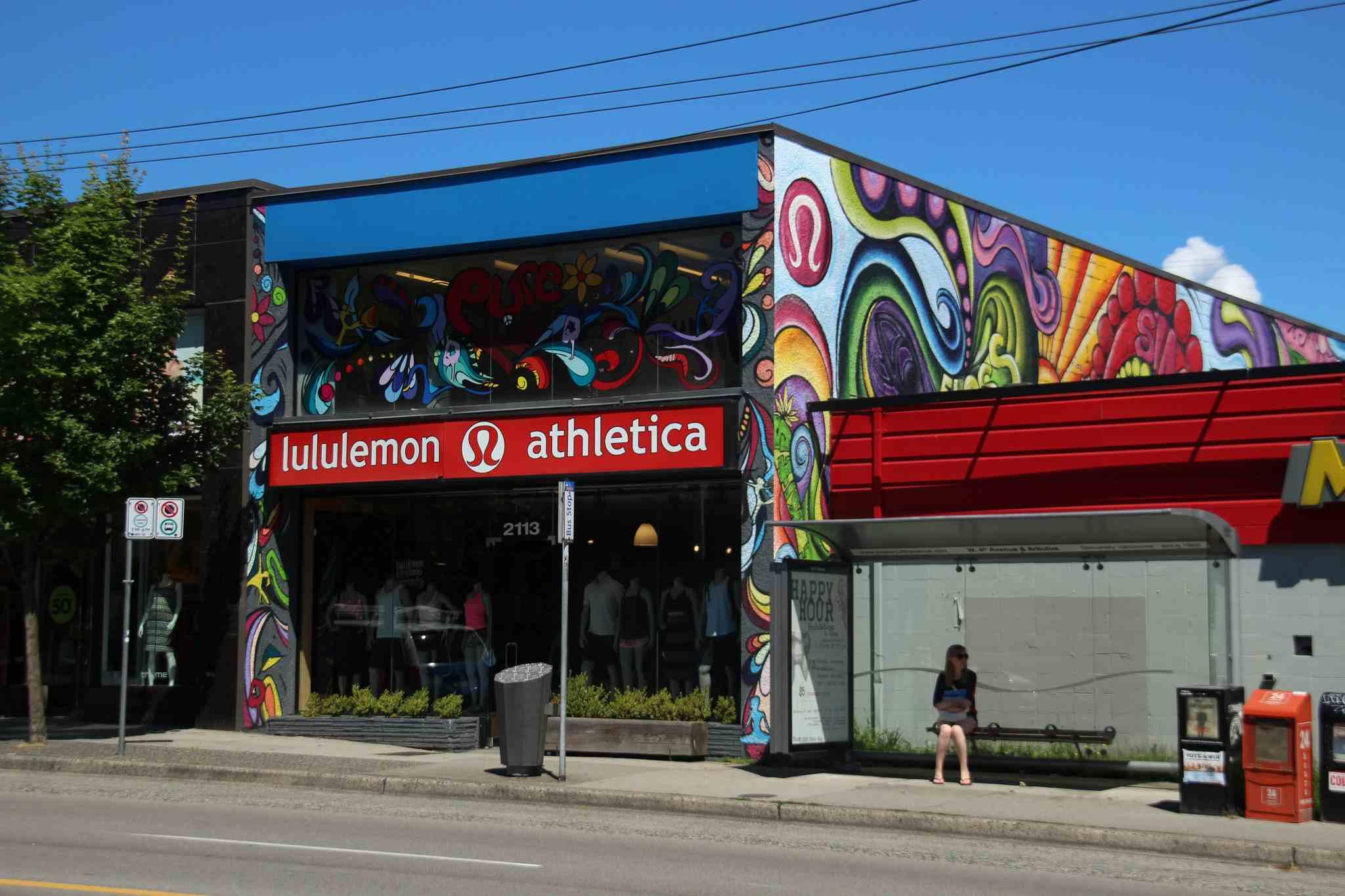 The Lululemon original en West 4th Ave
