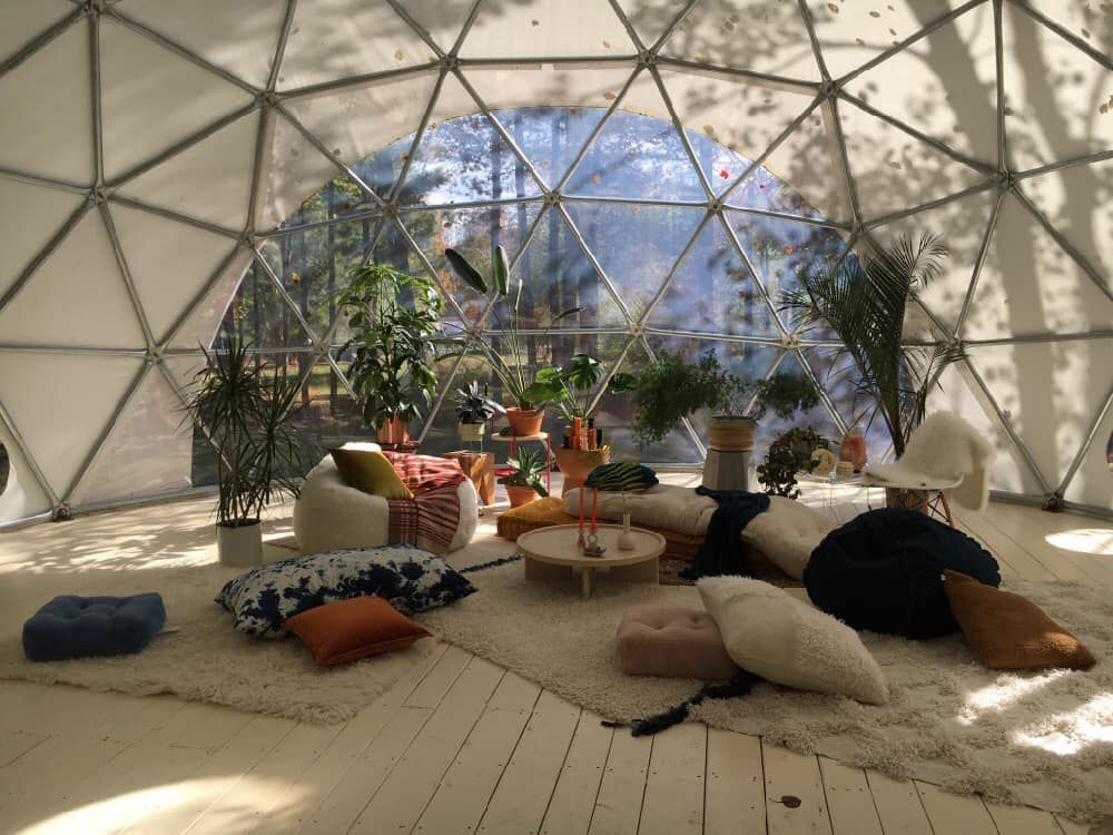 Inside the Geodome