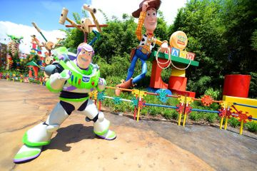 The Toy Story Land Preview At Walt Disney World