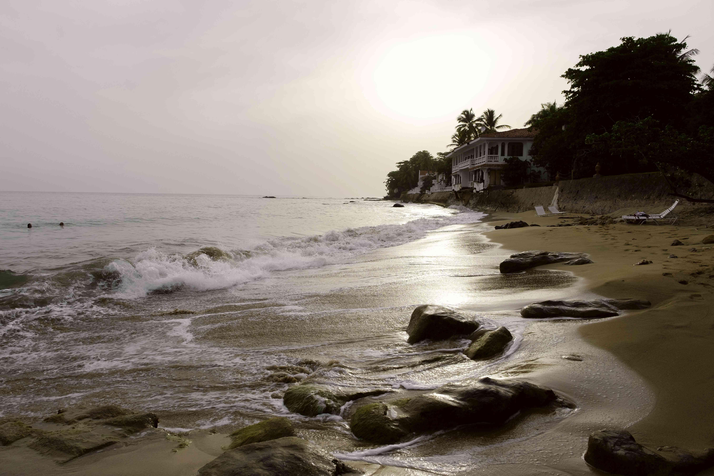 Barrero Beach at sunset