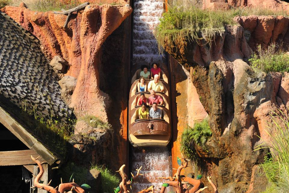 Splash Mountain at Disney World