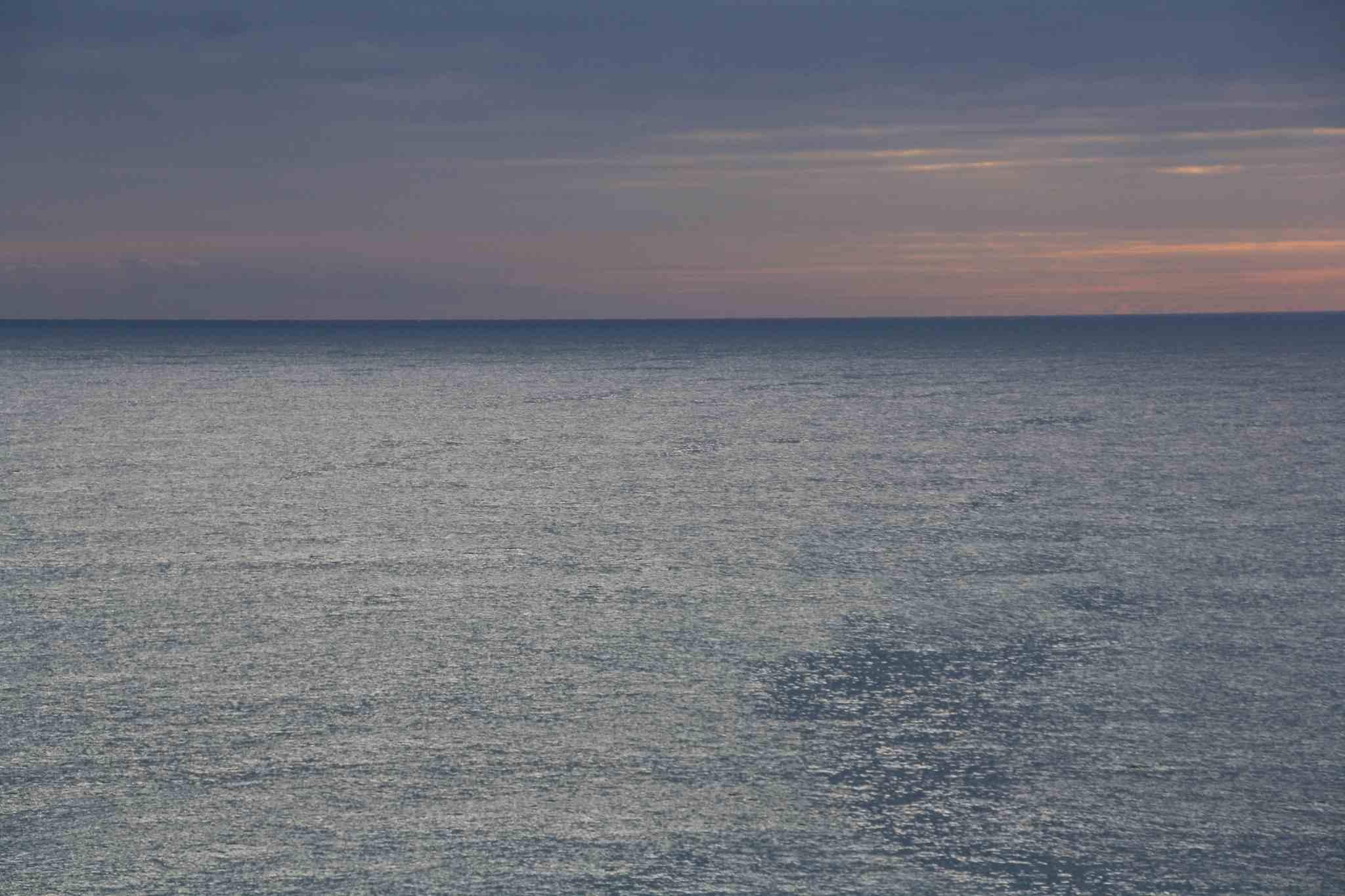 Blick vom Strand Caldetes