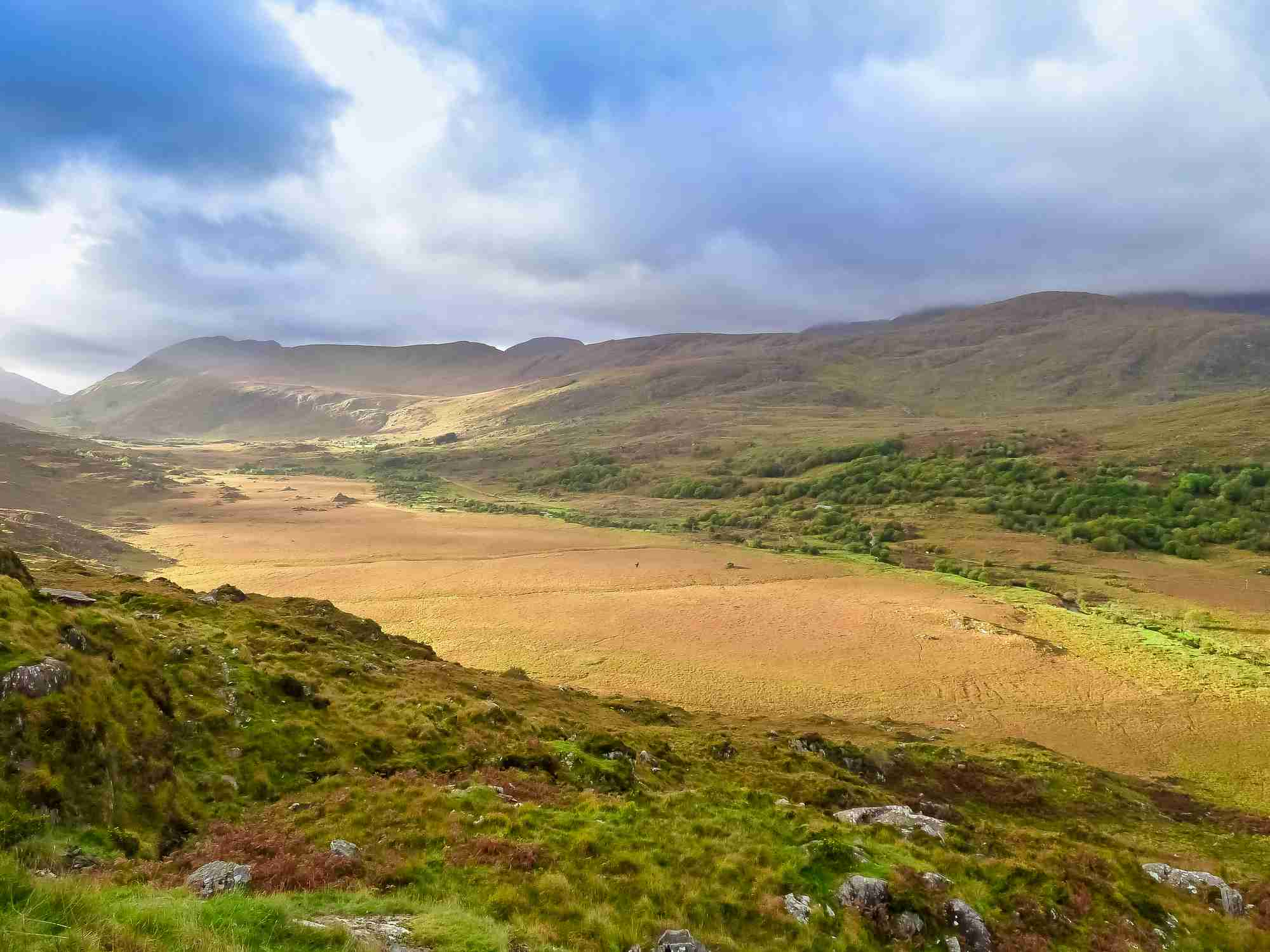 Scenic Moll's Gap on the Ring of Kerry