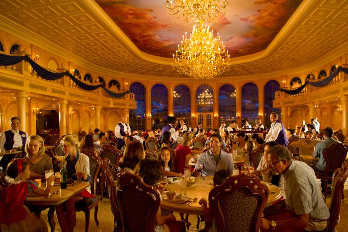 Be Our Guest Restaurant Disney World Jpg