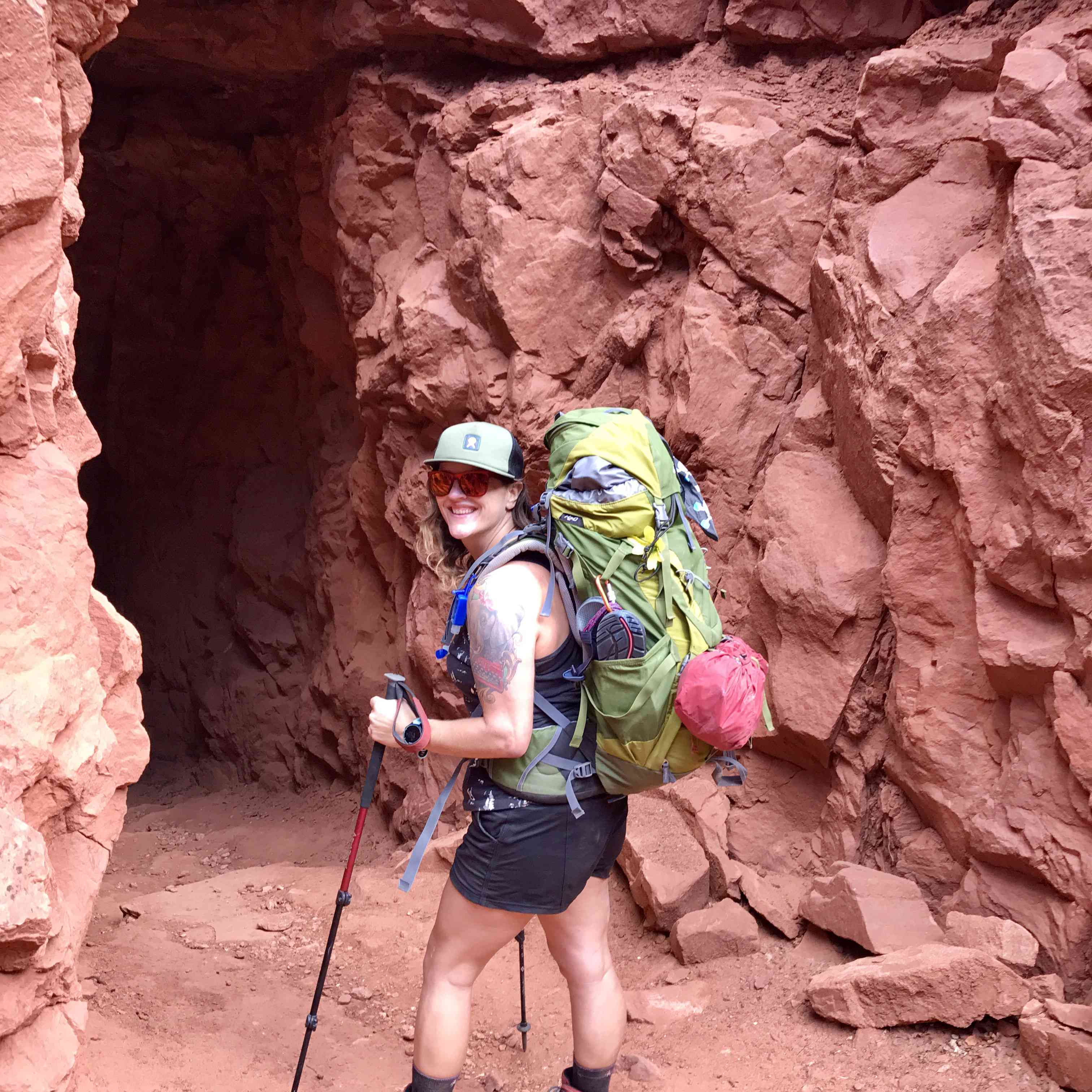 Backpacking in the Grand Canyon